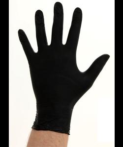 1000x CMT zwarte soft nitril handschoenen