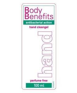 100ml handdesinfectie handgel Body Benefits
