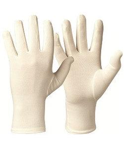 Bamboe anti-krab handschoenen bij eczeem