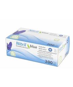 Nitril handschoenen BLAUW Violet latexvrij - 200 st.