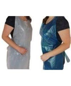 Plastic beschermend schort 75x160 cm - 100 stuks