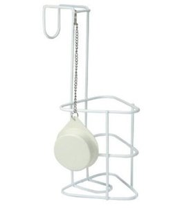 Urinaalhouder met afsluitkapje - per stuk