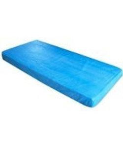 10 wegwerp matrasbeschermers waterdicht 210x90cm - 10 st