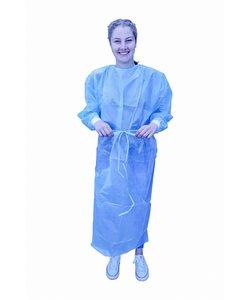10x  virus protectie labjas met PE laminaat MRSA