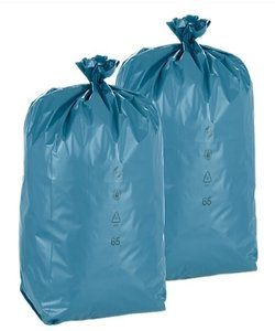 250 afvalzakken 120 liter PREMIUM PLUS