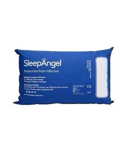Anti-allergie hoofdkussen - Blauw Microvezel