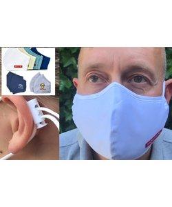 2x Nano Silver mondmasker wasbaar Premium