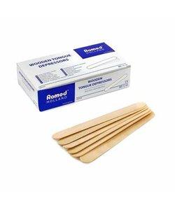 houten tongspatels onsteriel doosje a 100 stuks