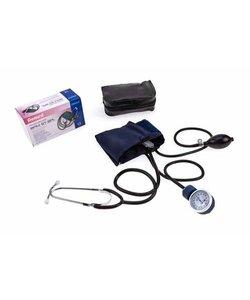 Bloeddrukmeter + stethoscoop Aneroid Sphygmomano p.s.