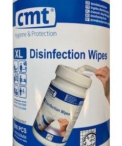 Desinfectiedoekjes XL wit Emmer - 300 wipes