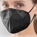 Medisana FFP2 Mondmasker Zwart - CE gecertificeerd 10st