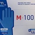 Polysem Nitril handschoenen 100 Virus EN374-5 EN455