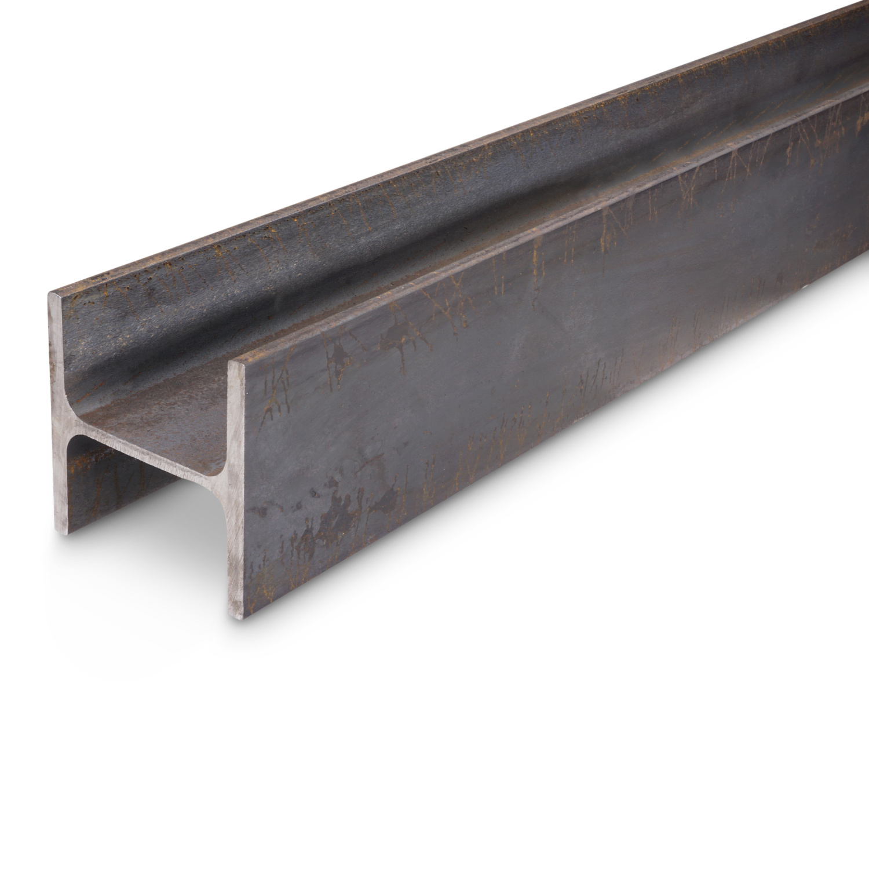 HEA 140 - stalen balk WGW zwart onbewerkt balkstaal