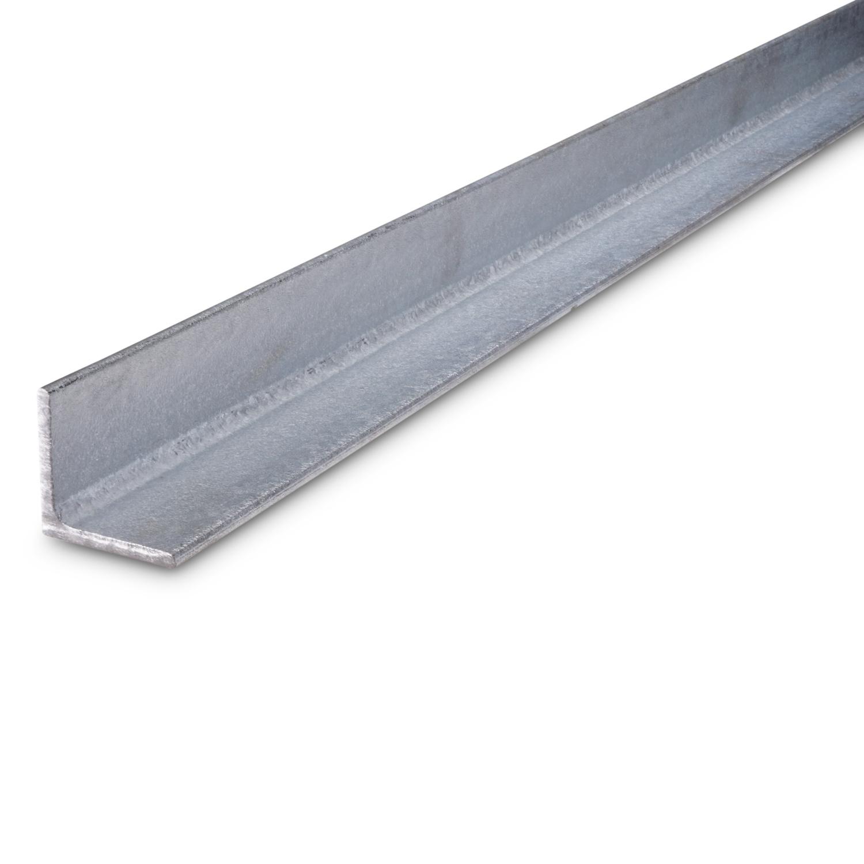 Hoekprofiel gelijkzijdig WGW gegalvaniseerd - verzinkt staal - 40X40X4 MM