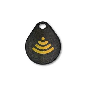 NFC-hang-tag NTAG213,  100% waterdicht, warmte bestendig.