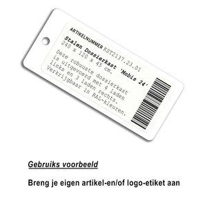 30 x 90 mm NFC prijskaart karton NTAG213