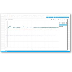 NFC-Temperatuur logger. Blulog TLDL-114, multiple use ca. 1jr.