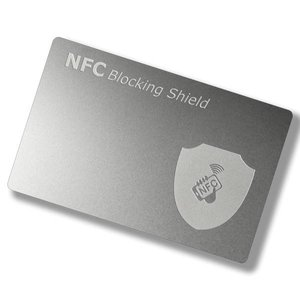 NFC-Blocking-Card. Metaal.