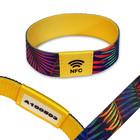Met volgnummer NFC Event-polsband Elastisch, bedrukt textiel NTAG213