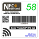 Snel Fastprint-NFC-stickers laten bedrukken naar eigen ontwerp