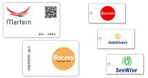 FastPrint Cards en Key-cards bedrukken