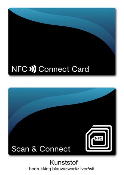 Kunststof Connect Card