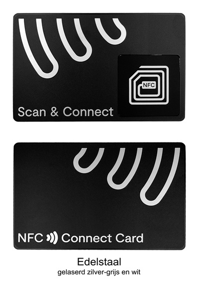 Connect Card Edelstaal