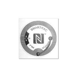 38 mm NFC-Stickerg NTAG213 Transparant