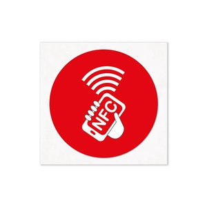 30 mm NFC-Sticker NTAG213