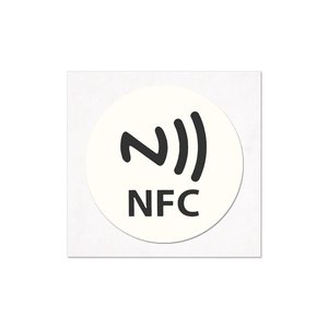 NFC-Sticker-Tag NTAG213 wit/logo