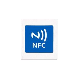 19 x 19 mm NFC Sticker NXP NTAG213 Geschikt op metaal