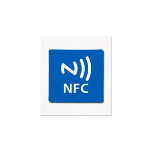 NFC Sticker-Tag NXP NTAG213 Op-Metaal.