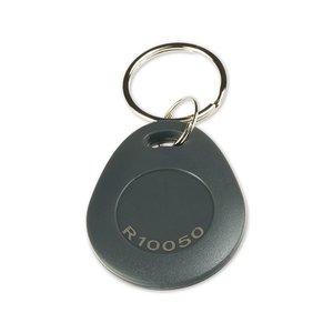 NFC-Sleutelhanger-Tag NTAG216 Grijs + laser-ID