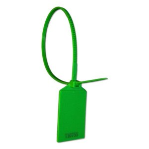 Laser-volgnummer NFC Tie-Wrap NTAG213 Groen