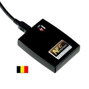 NFC-Nederland NFC ID-reader + keyboard emulator AZERTY (BE)