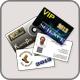 Passen bedrukken en visitekaartjes