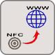 Hoe een weblink in NFC-tag?