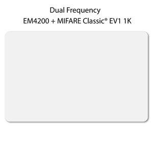 Dual frequency Card. Wit EM4200 + Mif Class. EV1 1k