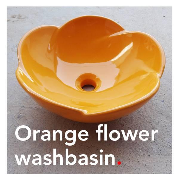 Bathroom Mania Spring Blossom | orange