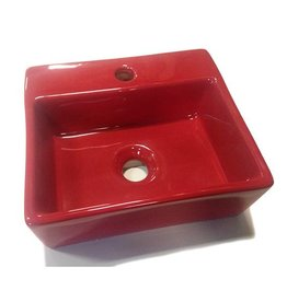 Bathroom Mania red fountain