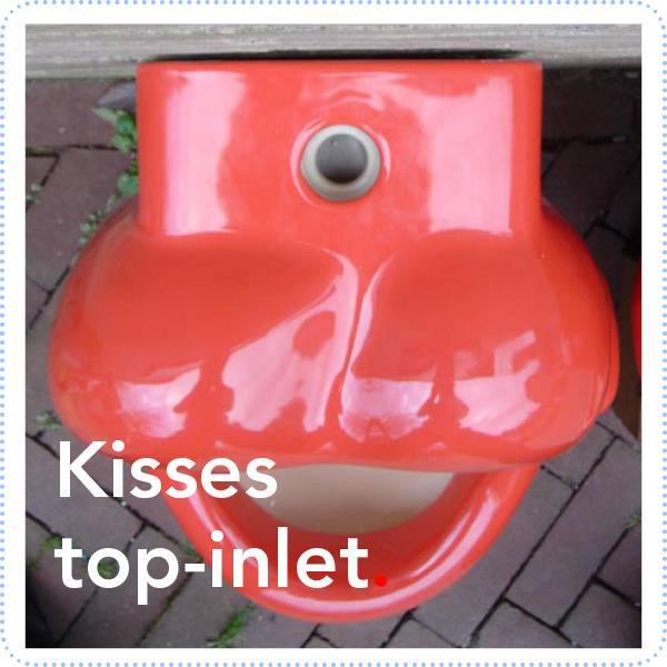 Bathroom Mania kisses urinal | top-inlet
