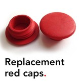 Bathroom Mania replacement red caps