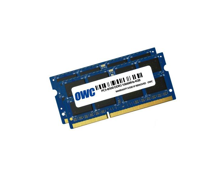 OWC OWC 8GB RAM kit (2x4GB) MacBook Pro Ende 2008 zu Mitte 2010