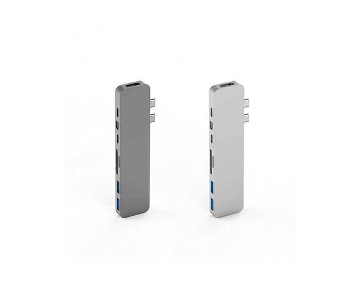 Hyper Hyper HyperDrive PRO USB-C Hub (Silver)