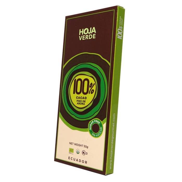 100% Pure chocolade, BIO, Kosher, 50 g