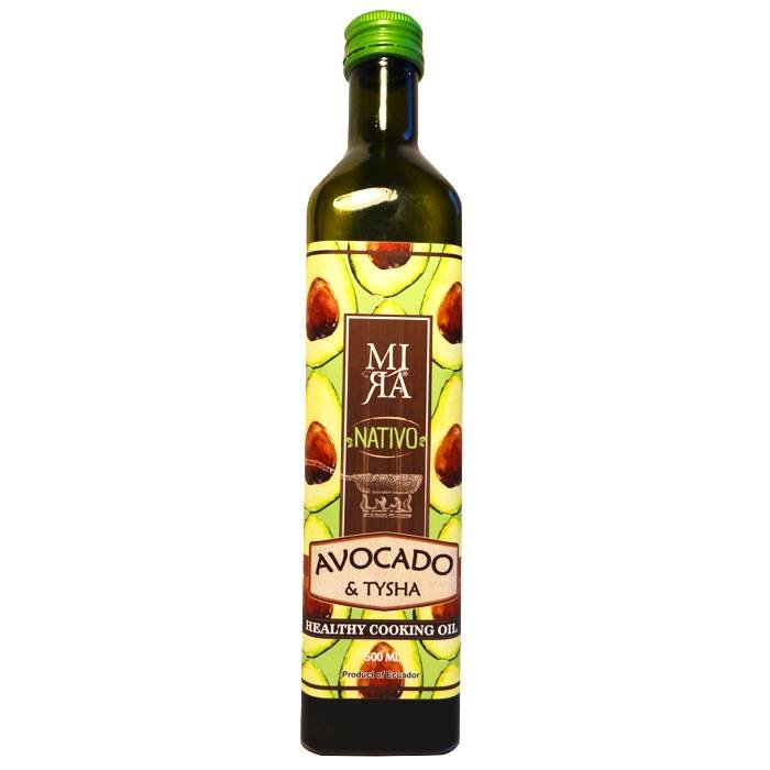 Nativo avocado olie, extra vierge, Ecuador, 500 ml