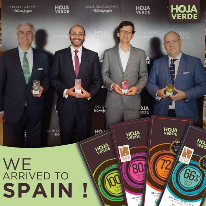 Hoja Verde in Gourmet Club of El Corte Inglés Spanje