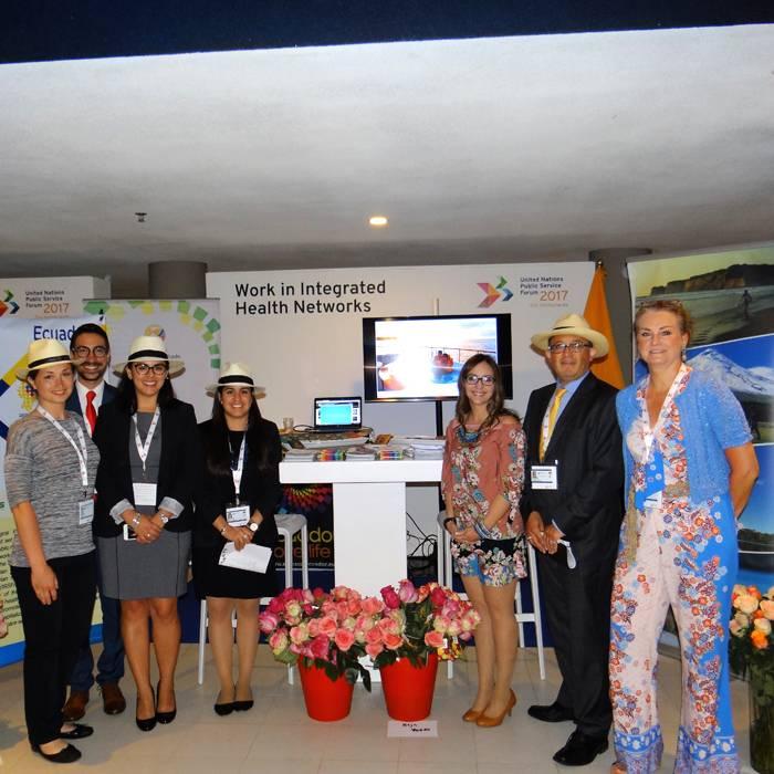 United Nations award voor minister van gezondheid Ecuador