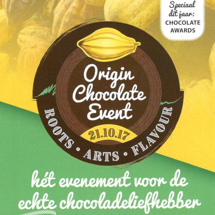 Deelname Origin Chocolate Event