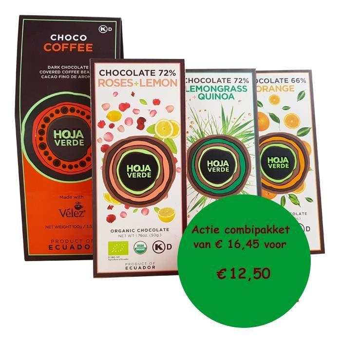 Chocolade pakket met Choco coffee, Biologisch, Ecuador